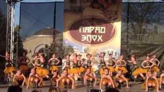 Евпатория. 2 Мая. парад эпох. Студия современного танца
