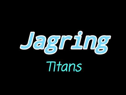 Jagring (lyrics) | Titans