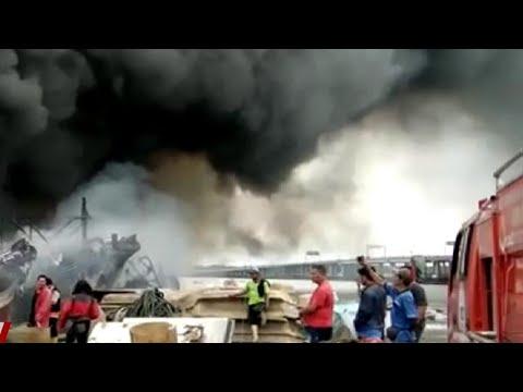 Ini Penyebab Kebakaran 39 Kapal di Benoa Bali