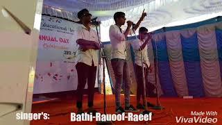 Malayalam remix song .Rauoof BK