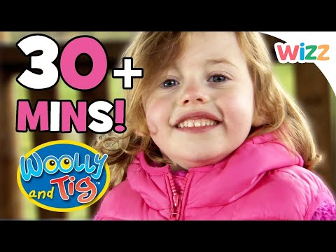 Woolly and Tig - January Special | 30+ minutes | Toy Kid Spider
