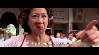 Stephen Chow   Kung Fu Hustle   Throw Knife Scene