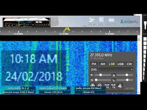 CQDX11.com CH#35 LSB WEB SDR CB Radio Live Stream from Melbourne Australia 43Div.
