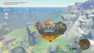 依頼を受けて、空からハイラル王国を一周して眺めてみた