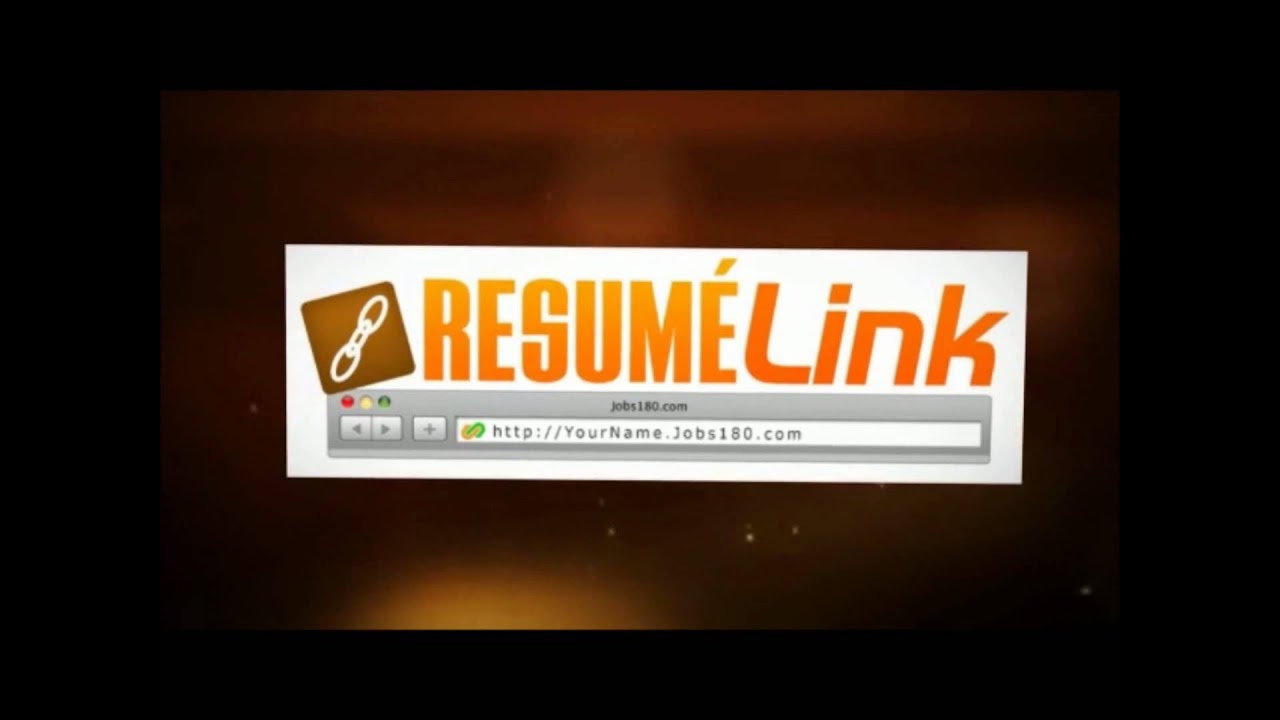 Example Of Resume Link Resume Link by Jobs180.com