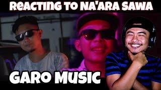 Na'ara Sawa   Ennio Marak Ft. T Da Tiny Carth & Chusrang Marak (Official M/V)    [REACTION VIDEO]