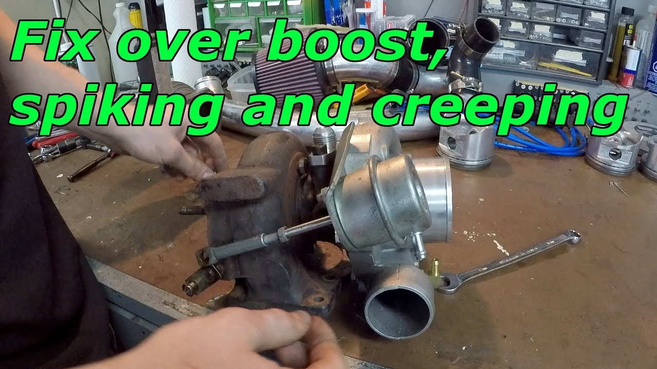 How to Port Turbo Wastegate (Fix over boosting, spiking and creeping)