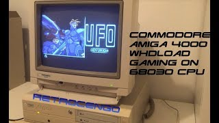 Commodore Amiga 4000 Test and Gaming on 68030 CPU