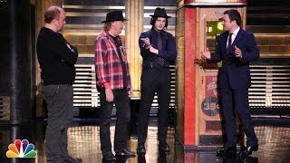 Neil Young and Jack White Demonstrate a Voice-O-Graph Machine