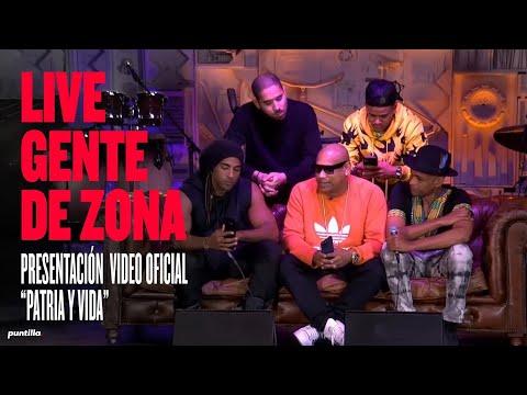 Gente de Zona, @Yotuel , @Descemer Bueno , Maykel Osorbo, El Funky – Estreno de Patria y Vida