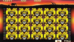 50 Lions Pokie Machine - Doubled the Free Spins! (and won this time)