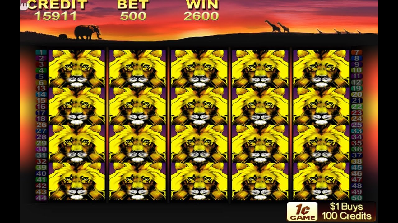 lions slot machine