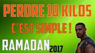 PERDRE 10 KILOS SIMPLEMENT PENDANT LE RAMADAN