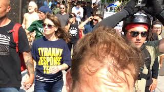 Antifa don't want none of this ! Liberty or death rally. Seattle