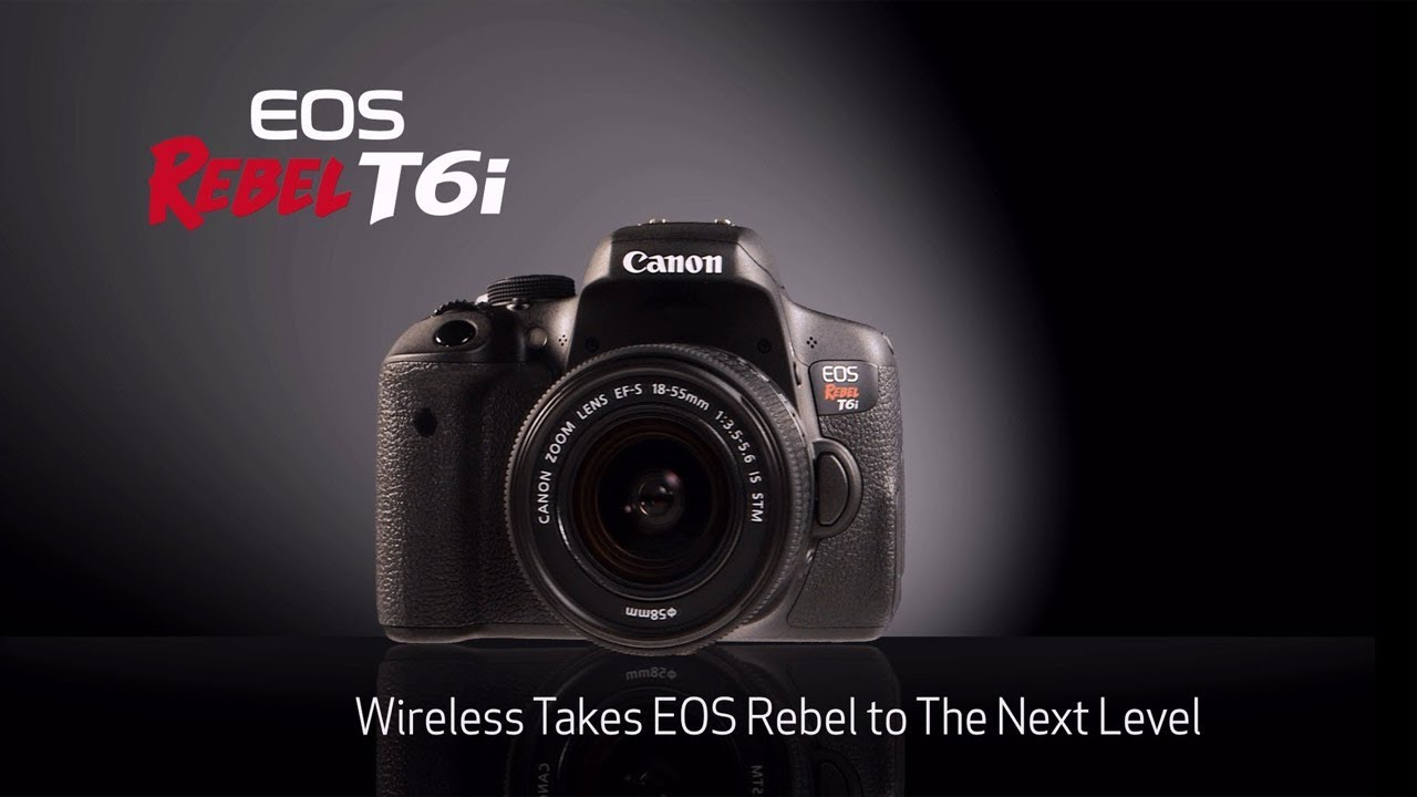Canon Eos Rebel T6i Camera Unboxing Review