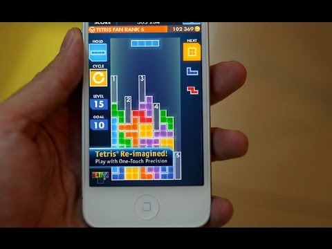 IOS App Of The Week: TETRIS (Review)