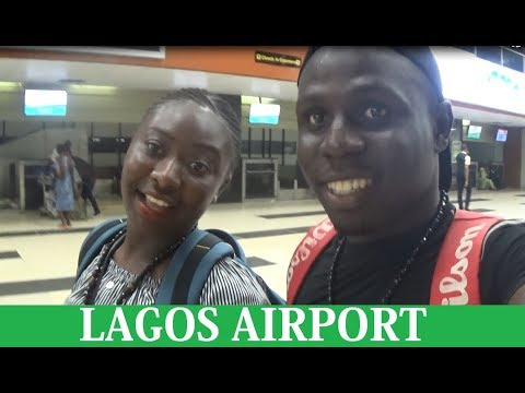 Lagos International Airport Vlog | Departures and Arrivals in Nigeria