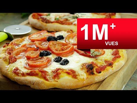 recette-de-pizza-très-facile-(tomate-/-mozzarella)-₪-pankaj-sharma