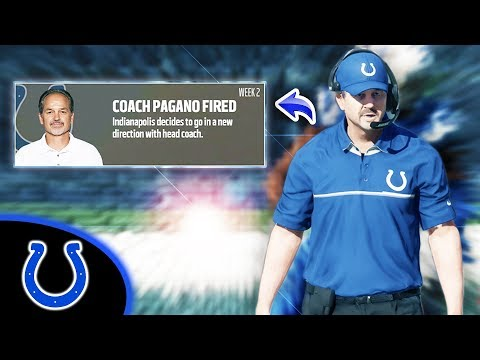 I FIRED CHUCK PAGANO! Madden 18 Colts Connected Franchise Ep. 20
