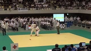 10日 柔道 男子個人90kg 門田 知也vs吉村 太一 1回戦