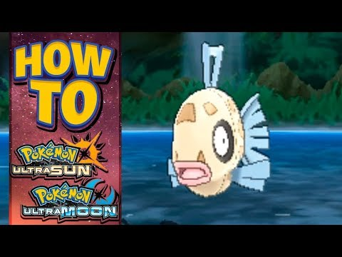 HOW TO GET Feebas in Pokemon Ultra Sun and Moon