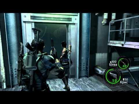 Смотреть прохождение игры [Coop] Resident Evil 5 - Серия 14: Его надо сжечь 2...