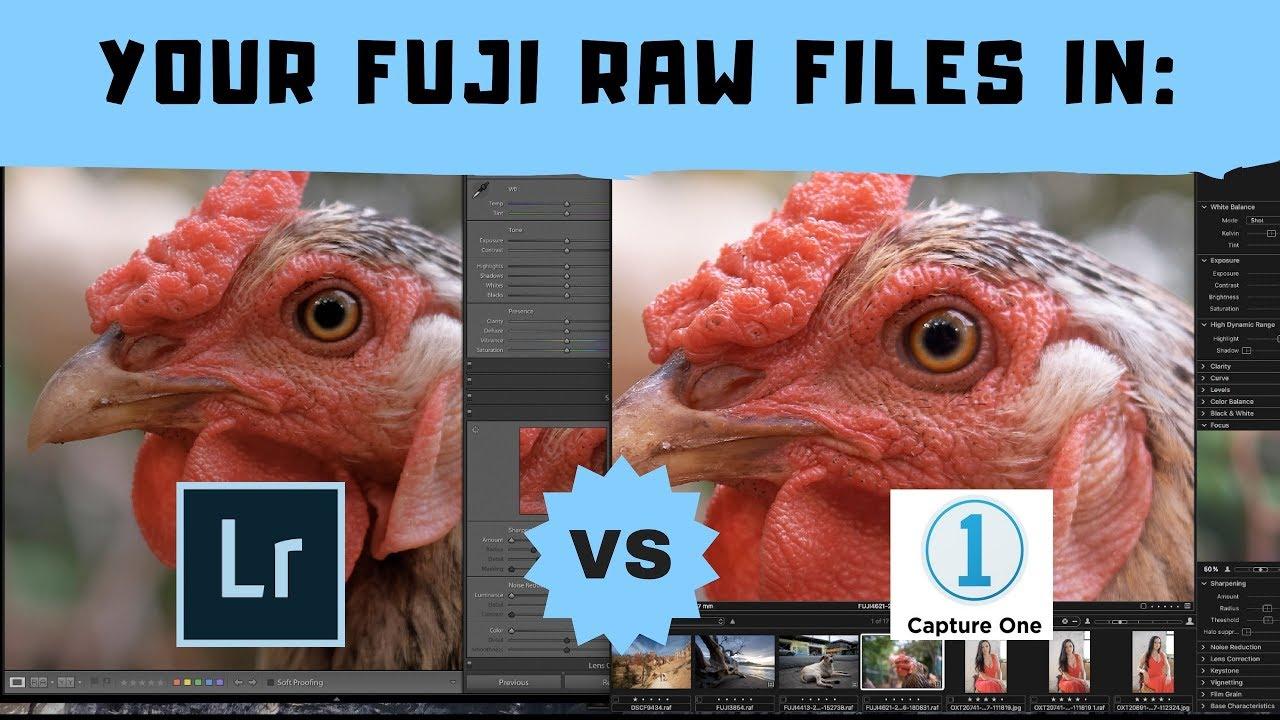 GET the sharpest Fuji RAW files! Lightroom, Capture One, Luminar?