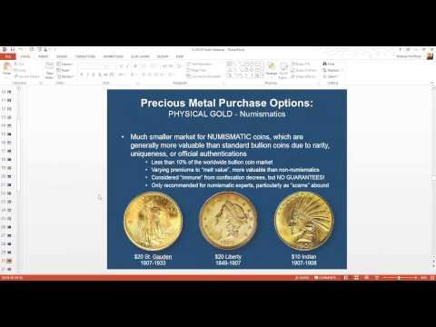 A Special Precious Metals Presentation With Andy Hoffman