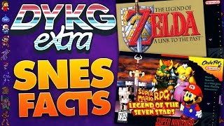 SNES Game Facts (Super Nintendo)