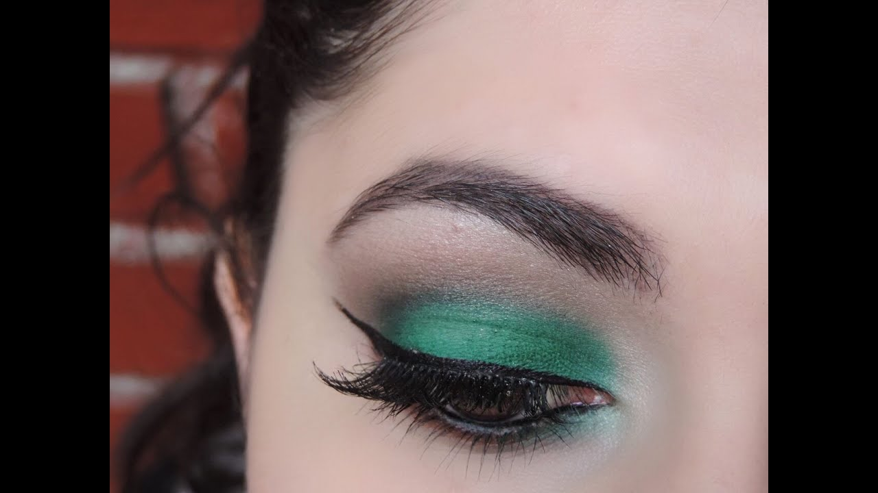 maquillaje en tonos verdes para ojos oscuros o negros makeup for dark eyes youtube