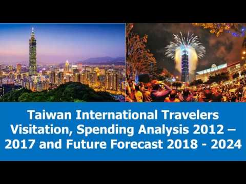 Taiwan International Travelers Visitation, Spending Analysis 2012   2024