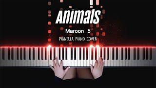 Maroon 5 - Animals   Piano Cover by Pianella Piano
