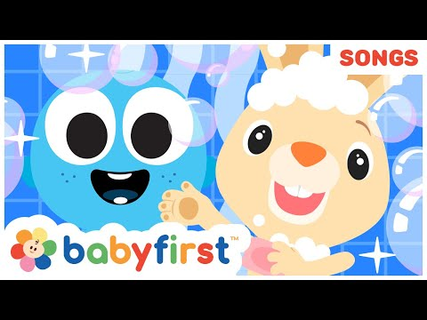 Morning Routine W Color Crew   Healthy Habits For Kids   Nursery Rhymes & Baby Songs   Baby First TV