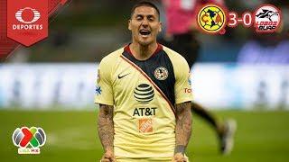 Castillo de ilusiones | América 3 - 0 Lobos BUAP | Clausura 2019 - J 8 | Televisa Deportes