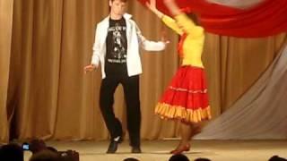 Майкл Джексон и народные танцы USA