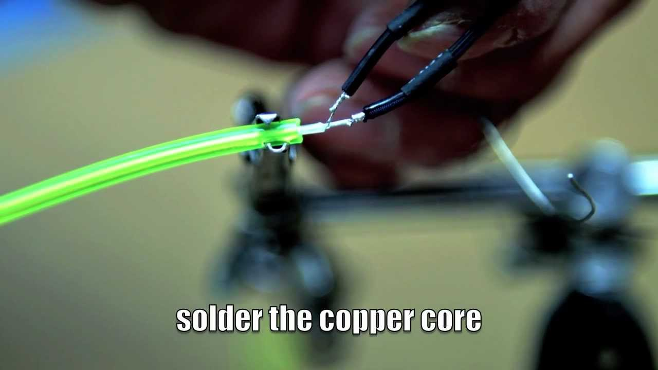 EZ - EL Wire Soldering Tutorial - YouTube