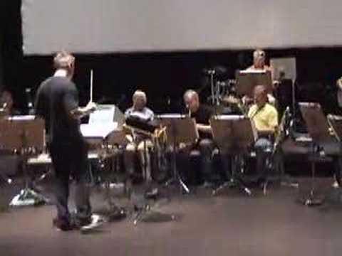 The Beau Hunks in rehearsal