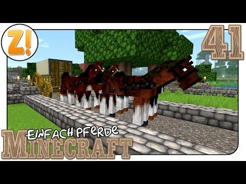 Minecraft - Einfach Pferde: Die Große Wagentour #41   Let's Play ★ [GERMAN/DEUTSCH]
