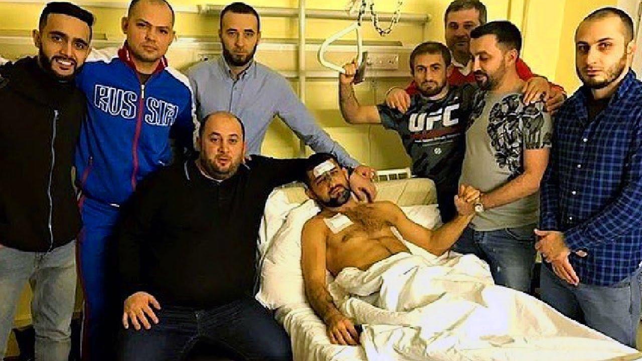 Расул Мирзаев в больнице