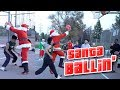 Basketball Santa Claus