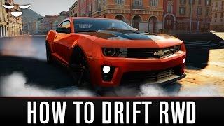 How To Drift In Forza Horizon 2 (RWD) EASY