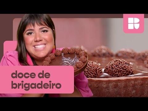 Torta de BRIGADEIRO: aprenda a fazer doce SUCULENTO e IRRESISTÍVEL  Raíza Costa  Rainha da Cocada