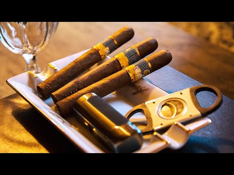 How To Smoke A Cigar At Davidoff London