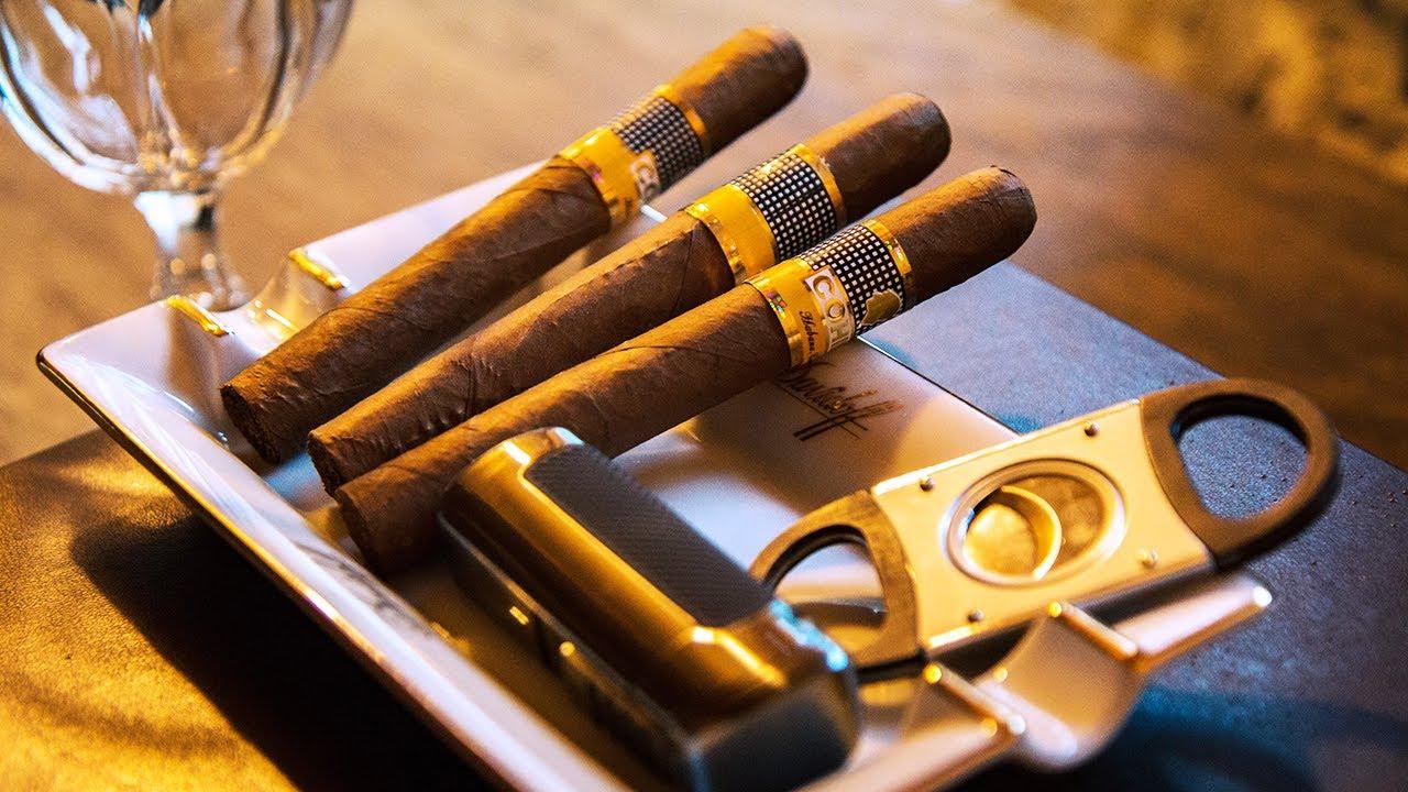 How To Smoke A Cigar At Davidoff London - YouTube