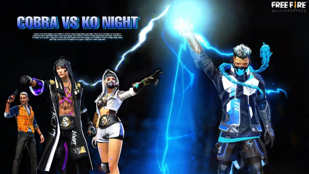COBRA Vs KO NIGHT | Part 3 | Free Fire Story In Hindi | Cobra Story | Jazz ff Gamer