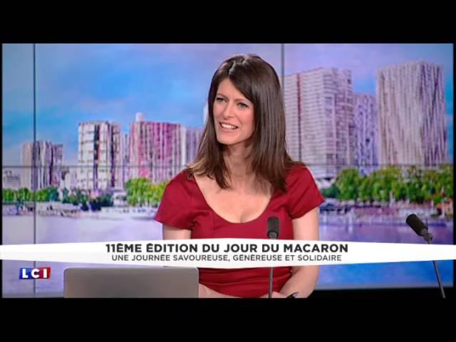 Laurent Duchêne Pâtissier Meilleur Ouvrier de France sur LCI pour la 11e édition du jour du macaron