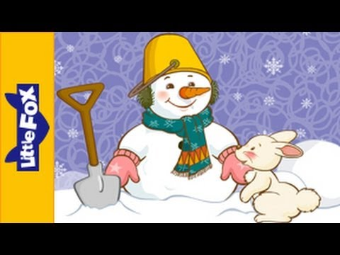 Chubby Little Snowman | Nursery Rhymes by Little Fox