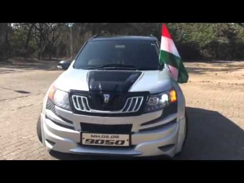 Xuv 500 youtube for Xuv 500 exterior modified