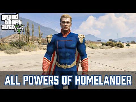 GTA 5 - All Homelander powers