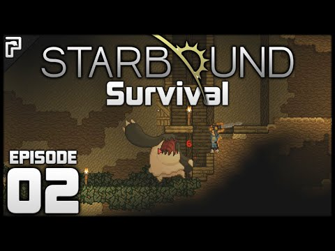 Dangerous Mine! Outpost! | Starbound 1.0 Let's Play (FULL Release) [#2]